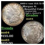 1900-o vam 35A I2 R5 Morgan $1 Grades Choice Unc