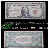 1935A $1 Silver Certificate Hawaii WWII Emergency