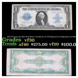 1923 $1 large size Blue Seal Silver Certificate, F