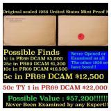 Original sealed 1956 United States Mint Proof Set