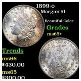 1899-o Morgan $1 Grades GEM+ Unc