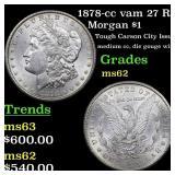 1878-cc vam 27 R5 Morgan $1 Grades Select Unc