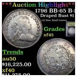*Highlight* 1796 BB-65 B-5 Draped Bust $1 Graded x