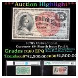 ***Auction Highlight*** 1870