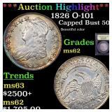 *Highlight* 1826 O-101 Capped Bust 50c Graded Sele