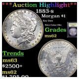 *Highlight* 1883-s Morgan $1 Graded Select Unc