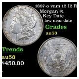 1897-o vam 12 I2 R5 Morgan $1 Grades Choice AU/BU