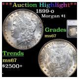 *Highlight* 1899-o Morgan $1 Graded ms67