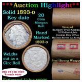 ***Auction Highlight*** Full solid date 1893-o Mor