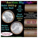 ***Auction Highlight*** 1922 & P Uncirculated Peac