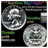 *Highlight* 1952 FS-901 Superbird Washington 25c G
