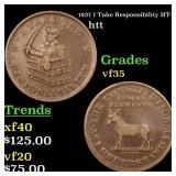 1837 I Take Responsibility HT-72 htt Grades vf++