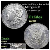 1878-p 7/8tf Vam 41 Top 100 I5 R5 Morgan $1 Grades
