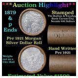 ***Auction Highlight*** Pre 1921 Morgan Silver Dol