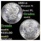 1881-o Morgan $1 Grades Choice Unc