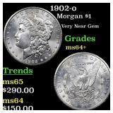 1902-o Morgan $1 Grades Choice+ Unc