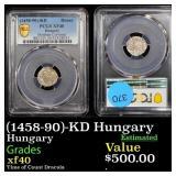 (1458-90)-KD Hungary Hungary Graded xf40
