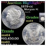 *Highlight* 1879-cc Morgan $1 Graded ms64