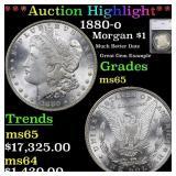 *Highlight* 1880-o Morgan $1 Graded ms65
