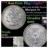 ***Auction Highlight*** 1888-o Vam 1B WOW!