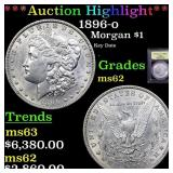 *Highlight* 1896-o Morgan $1 Graded Select Unc