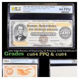 PCGS 1882 $500 Bureau of Engraving & Printing Gold