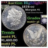 *Highlight* 1878-cc Morgan $1 Graded Select Unc+ P