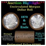 ***Auction Highlight*** 1879 & CC Uncirculated Mor