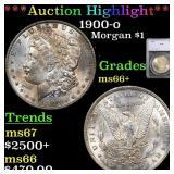 *Highlight* 1900-o Morgan $1 Graded ms66+
