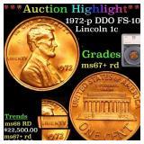 *Highlight* 1972-p DDO FS-101 Lincoln 1c Graded ms