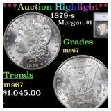*Highlight* 1879-s Morgan $1 Graded ms67