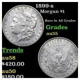 1899-s Morgan $1 Grades Choice AU