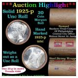 ***Auction Highlight*** 1925 & P Uncirculated Peac