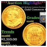 *Highlight* 1903 McKinley Louisiana Purchase Gold