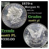1879-s Morgan $1 Grades GEM Unc PL
