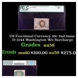 PCGS US Fractional Currency 10c 2nd Issue fr-1244