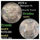 1878-s Morgan $1 Grades Choice Unc