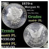 1879-s Morgan $1 Grades Choice Unc+ PL