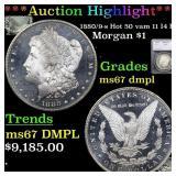 *Highlight* 1880/9-s Hot 50 vam 11 I4 R3 Morgan $1