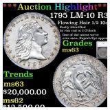 *Highlight* 1795 LM-10 R3 Flowing Hair 1/2 10c Gra