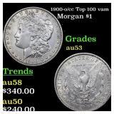 1900-o/cc Top 100 vam 11  Morgan $1 Grades Select