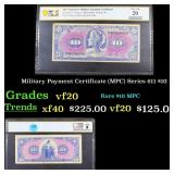 PCGS Military Payment Certificate (MPC) Series 611