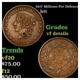 1837 Millions For Defence htt Grades vf details