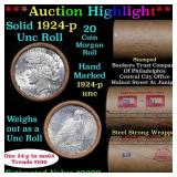 ***Auction Highlight*** 1924 & P Uncirculated Peac