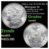 1887-p vam 16 I3 R4 Hot 50 Morgan $1 Grades GEM Un