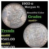1902-o Morgan $1 Grades GEM+ Unc