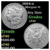 1894-o Morgan $1 Grades xf