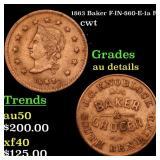1863 Baker F-IN-860-E-1a R5 cwt Grades AU Details