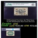 US Fractional Currency 10c Third Issue fr-1255 Was