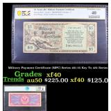 PCGS Military Payment Certificate (MPC) Series 481